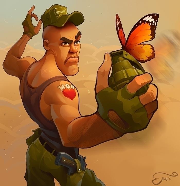 Butterfly - kinnara-3336   ello