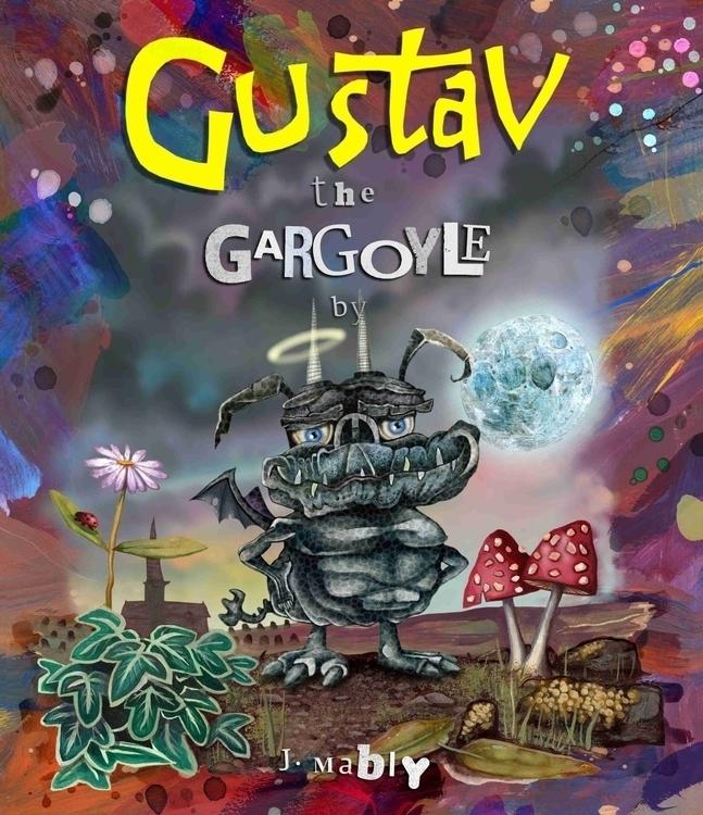 Cover image Gustav Gargoyle - illustration - mably   ello