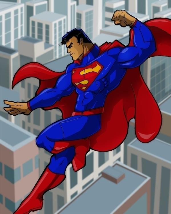 Superman - superman, dccomics, manofsteel - rickmarin | ello