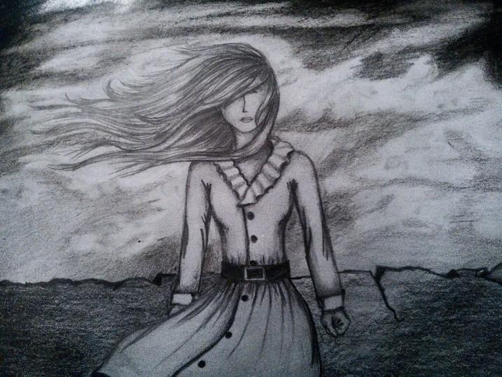 ilustración lápiz sobre papel - illustration - monicamorales | ello