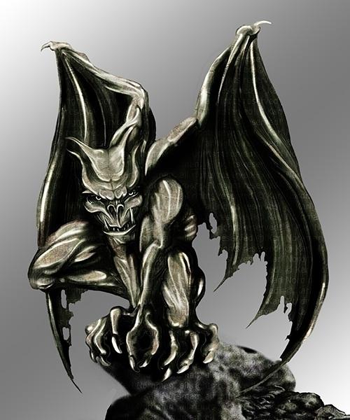 Gargoyle - thelycanknight | ello