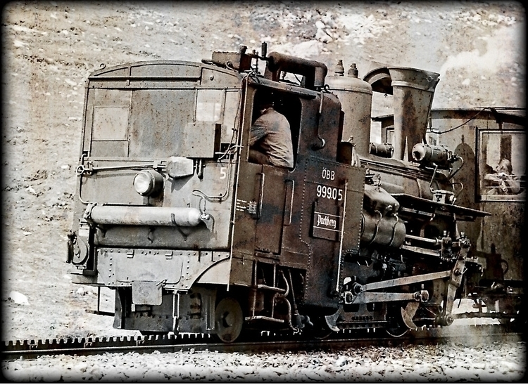 Image showing steam cog locomot - leo_brix | ello