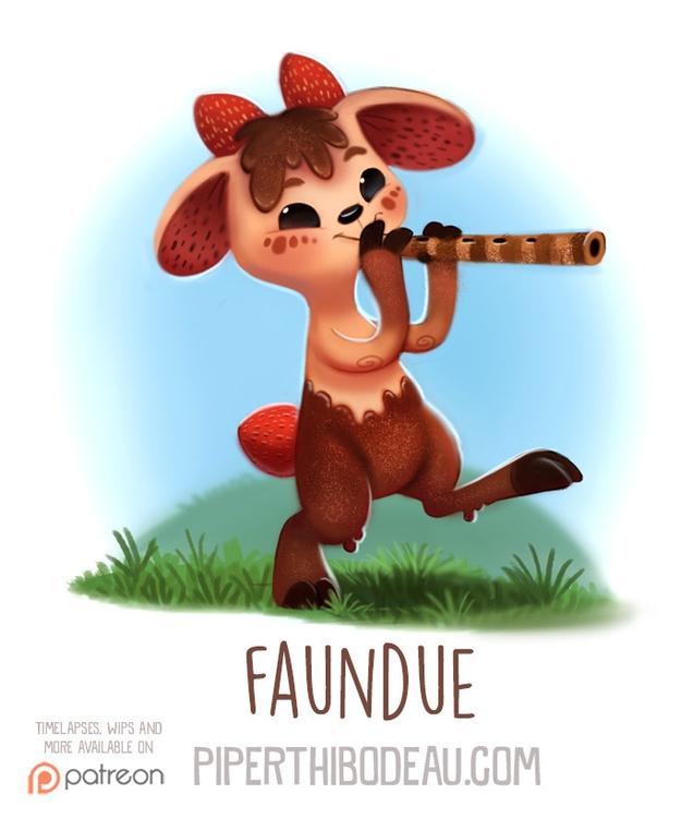 Daily Paint 1551. Faundue - piperthibodeau | ello