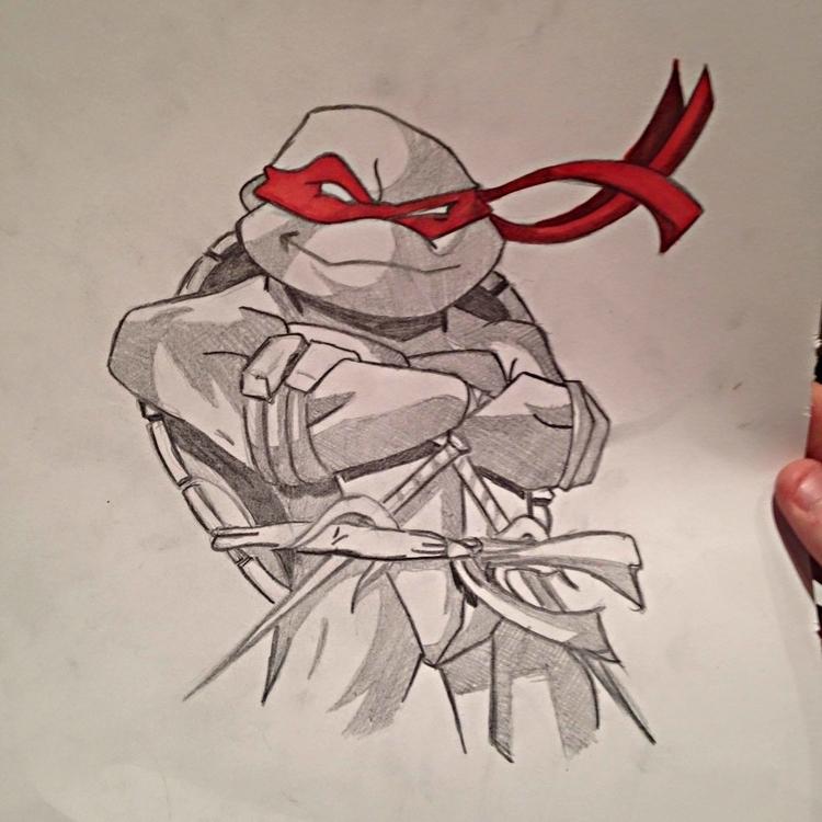 Raphael - pencildrawing, art, sketch - seanfinlay_ | ello