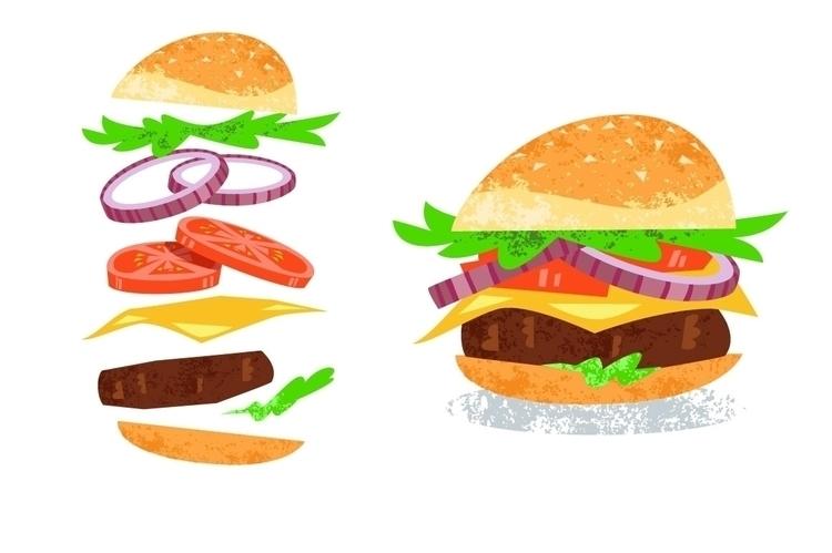 Burger - hamburger, cheeseburger - pushkina | ello
