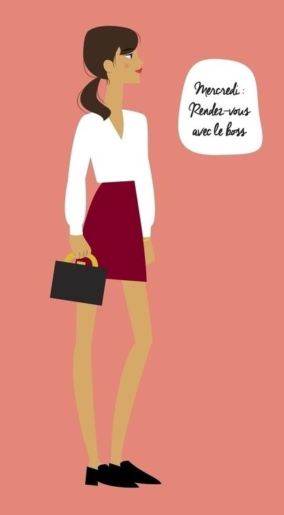 illustration, fashion, style - camillelily | ello