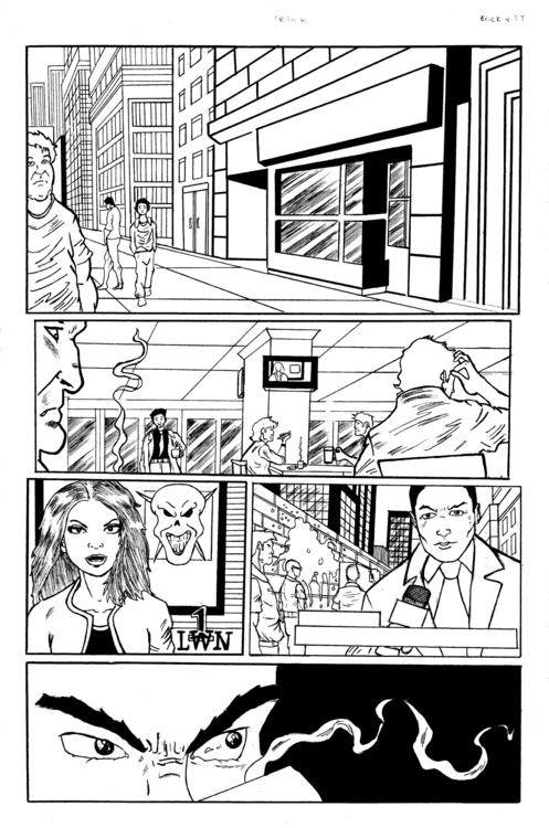 Soul Eraser issue 1 pg 3 - ehernand1 | ello