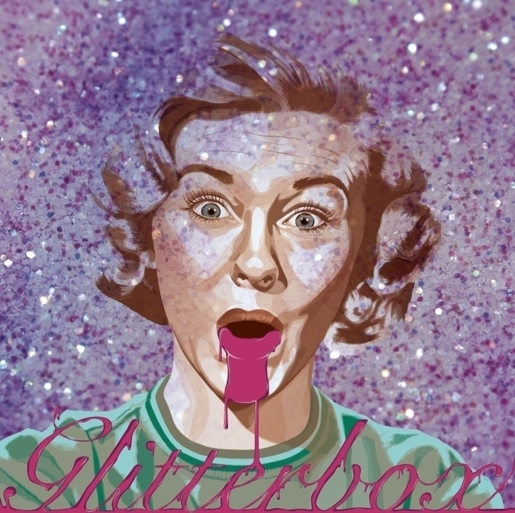 Album cover band Glitterbox - glitter - helenratner | ello