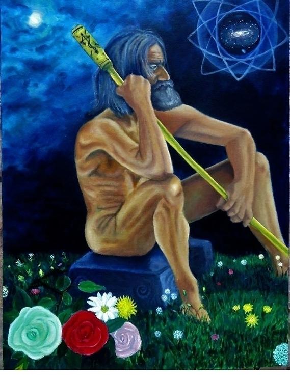 Bochica - Muiska - painting, drawing - jonatanleyton | ello