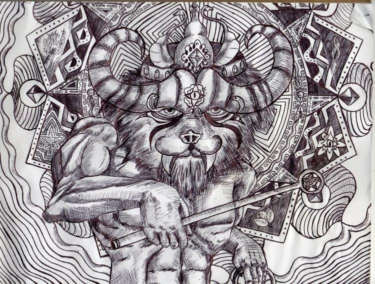 illustration, drawing, painting - jonatanleyton | ello