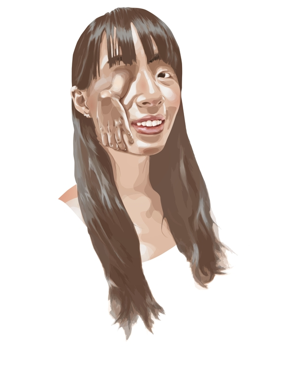 Vector Portrait - illustration, portrait - helenratner | ello