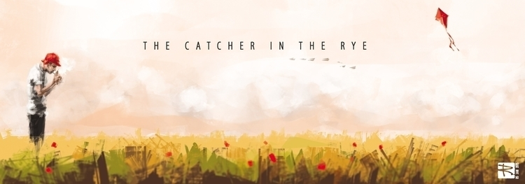 Catcher Rye - illustration, drawing - raschomon | ello