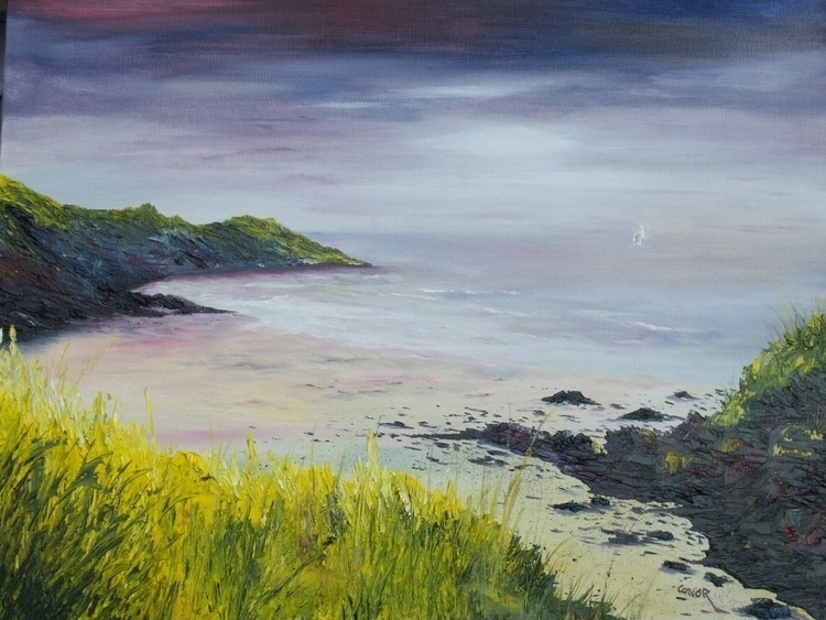 Lovers cove, Kinsale. painting  - irishart | ello