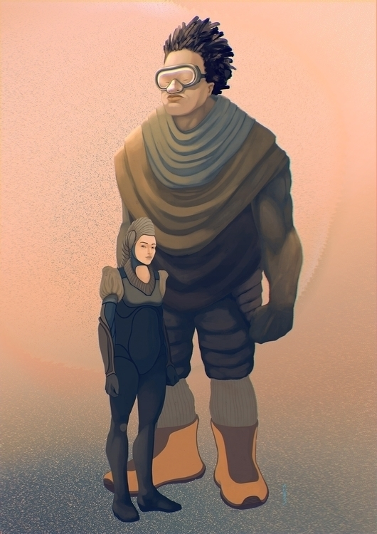 Star Heroes - illustration, sci-fi - alecs-1191 | ello