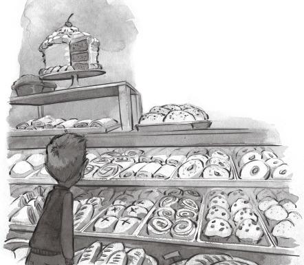 Bakery - bakery, blackandwhite, illustration - jessicawarrick | ello