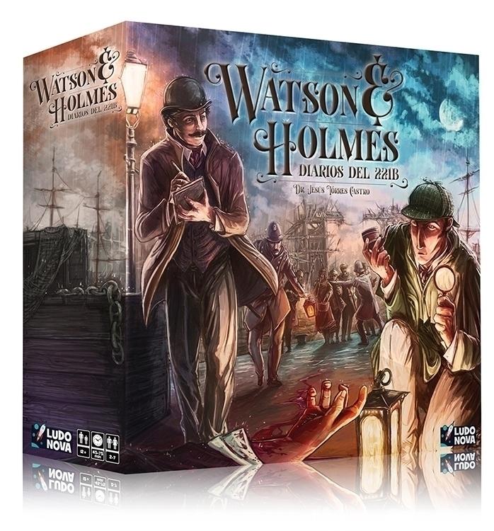 Watson Holmes (2015 - illustration - inkgolem | ello
