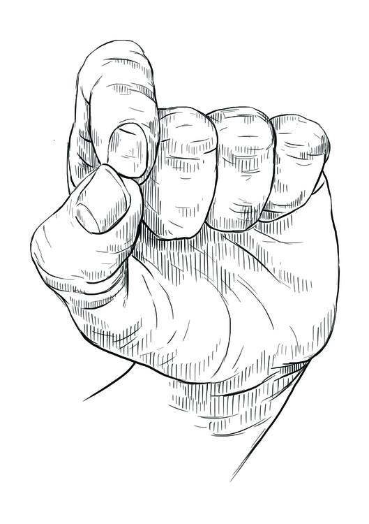Mudra 4 - illustration, drawing - martinadirce | ello