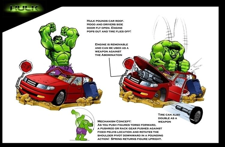 Incredible Hulk Action Figure/P - tommcweeney   ello