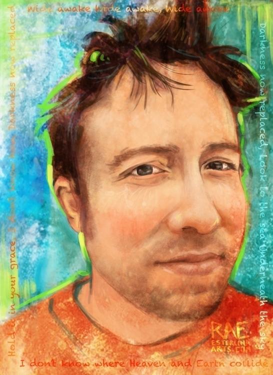 Freelance Portrait Josh - illustration - esterlinaarts | ello