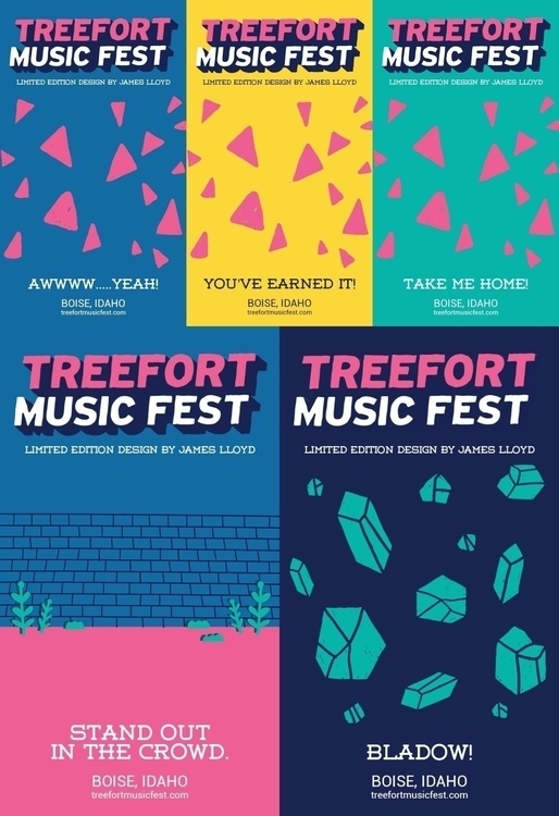 2017 Backings sell Treefort pin - laurentesch | ello