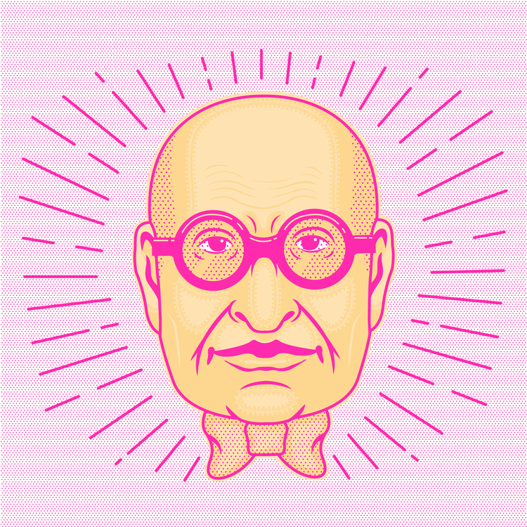 Wally Olins Portrait - wallyolins - pingu-4790 | ello