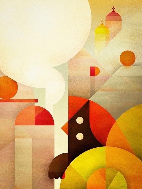 minimal, abstract, birds - squizzato | ello