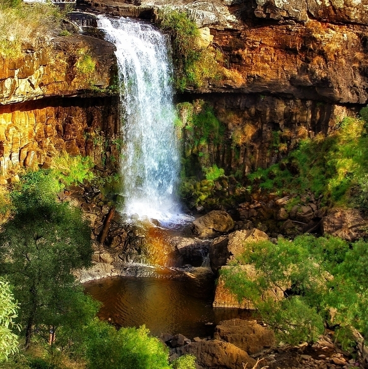 Natures Gift - photography, waterfall - stuartmedia | ello