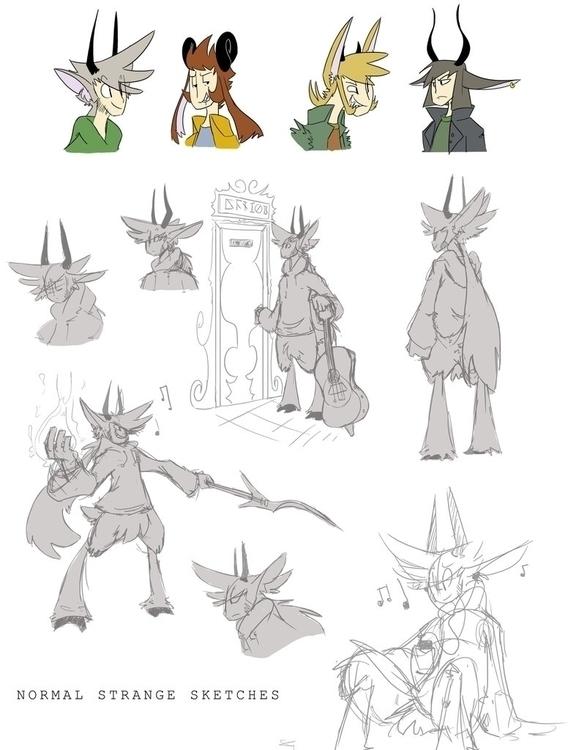 Character Design concepts video - zitoisneato | ello