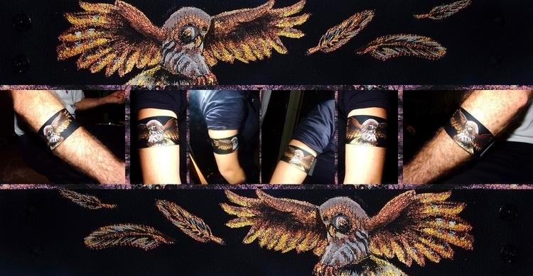 Gift acrylic synthetic leather - aiakira | ello