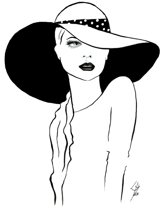Paris - illustration, drawing, fashion - cecilialamela | ello