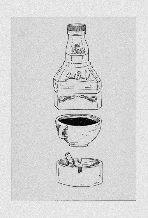 Artist basics - jackdaniels, jack - monsieurlaw | ello