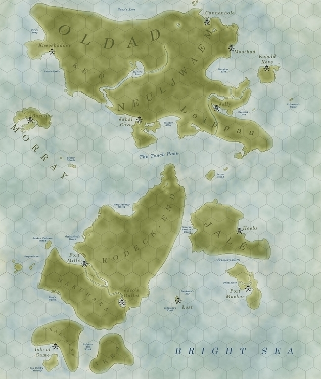 Tabletop RPG map pirate based c - zitoisneato | ello