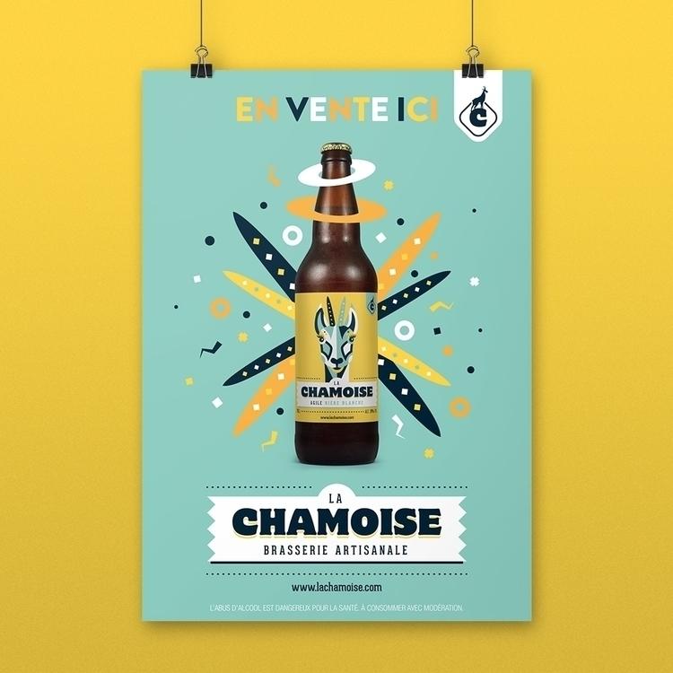 La Chamoise Poster - graphicdesign - antoinegadiou | ello