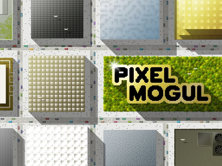 PixelMogul iOS Game - Intro - illustration - ala-1037   ello