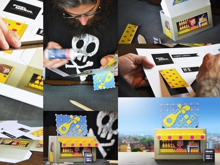 FREE PAPERCRAFT MODEL - illustration - ala-1037   ello