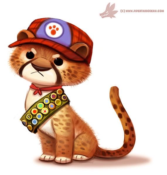 Daily Paint Cub Scout - 1078. - piperthibodeau | ello