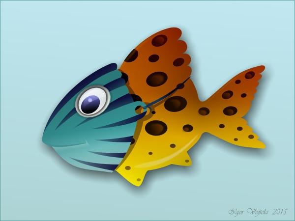Clown fish - vectorillustration - igor01 | ello