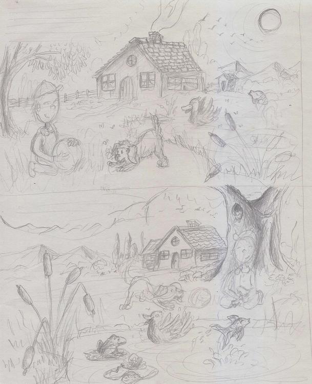 illustration, sketches - nahuelullua | ello