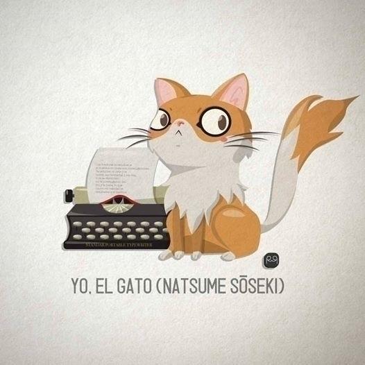 CAT BOOK - illustration, cat, book - rosseve33 | ello