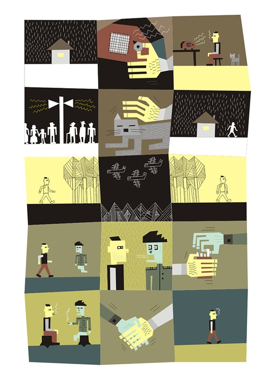 Hero Comics / Part 1 - illustration - dmitrybulanov   ello