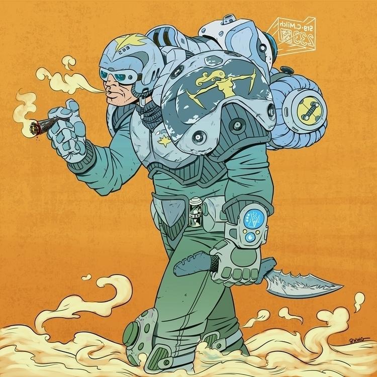 Sargent Cattarain Planet Acquis - robking21 | ello