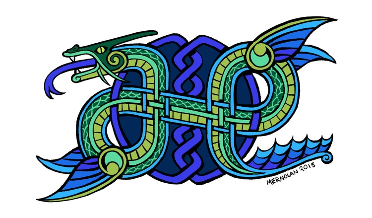 Commission world serpent/ogopog - mernolan | ello