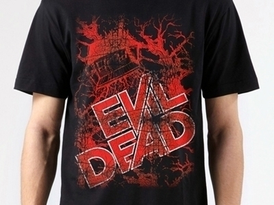 EvilDeadTshirtRed+ - scsladecarter | ello