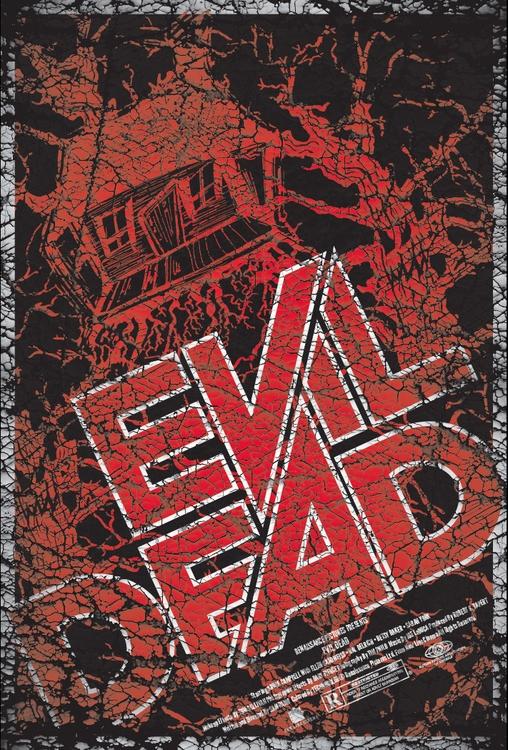 evildeadposter, illustration - scsladecarter | ello