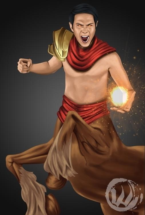 Zodiac: Sagittarius character d - wlmar | ello