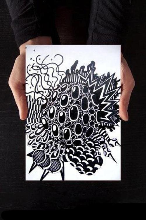 Abstract Vibe - #illustration, #digitalart#drawing#art#drawing#acrylic#paint#collage - anazorzonel | ello