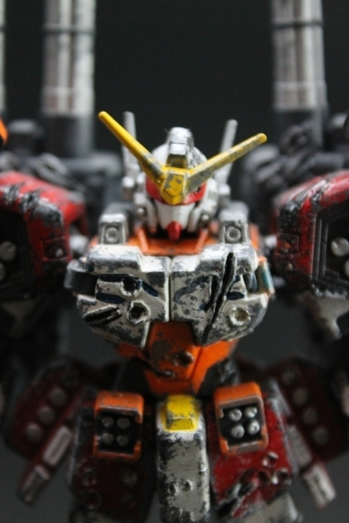 Custom build - Gundam Heavyarms - wlmar | ello