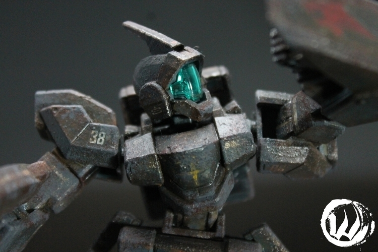 Gundam Genoace Custom - kit ent - wlmar | ello