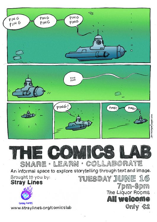 Comics Lab Poster - poster, comics - debbiejenkinson | ello