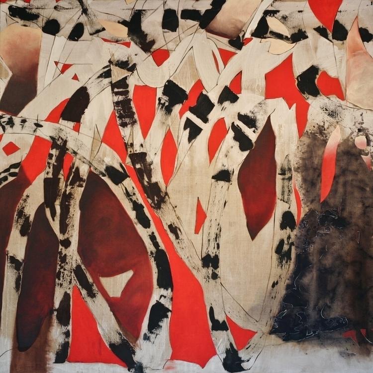 Energy Cascade Oil Canvas 66x 6 - richardrutner | ello